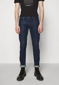 Emporio Armani - POCKETS PANT - Jeans slim fit - dark-blue denim