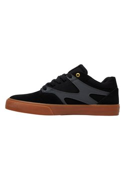 DC Shoes - KALIS VULC - Skateschuh - black/grey