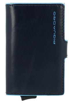 Piquadro - BLUE SQUARE LEDER - Visitenkartenetui - nachtblau