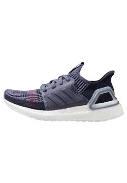 adidas Performance - ULTRABOOST 19 - Laufschuh Neutral - raw indigo/shock red