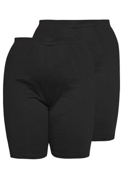 Missguided Plus - CYCLING 2 PACK - Shorts - black