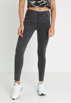 Vero Moda - VMJULIA FLEX - Jeans Skinny Fit - dark grey denim