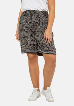 Ulla Popken - Shorts - black