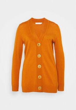 Tory Burch - BOYFRIEND SIMONE - Gilet - orange rust
