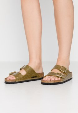Birkenstock - ARIZONA - Tofflor & inneskor - cosmic sparkle/olive tree
