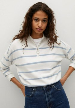 Mango - Sweater - bleu porcelaine