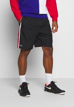 Lacoste Sport - SHORTS - Sports shorts - black