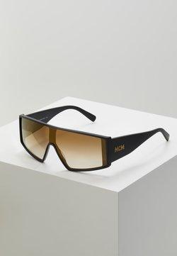 MCM - Gafas de sol - matte black/gold