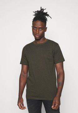 Denim Project - STRIPES TEE - T-Shirt print - deep depths
