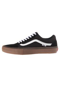 Vans - OLD SKOOL PRO - Chaussures de skate - black