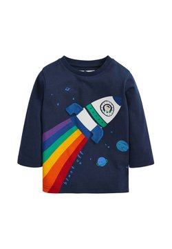 Next - RAINBOW ROCKET - T-Shirt print - blue
