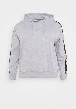 Missguided Plus - SLOGAN LOUNGE HOODIE - Sweatshirt - grey marl