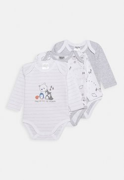 Jacky Baby - LANGARM 3 PACK - Body - grey