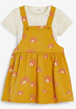 Next - PINAFORE - Freizeitkleid - yellow
