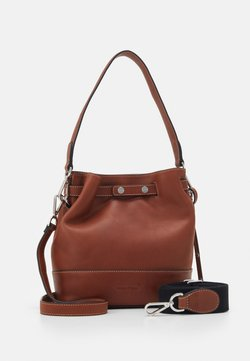 Marc O'Polo - BUCKET BAG - Handtasche - authentic cognac