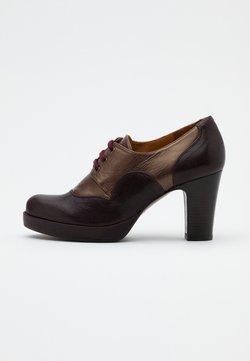 Chie Mihara - JULEM - Ankle Boot - barna grape/katar testa