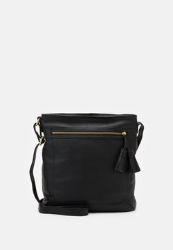 Anna Field - LEATHER - Umhängetasche - black
