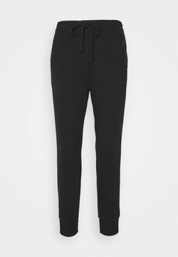 Abercrombie & Fitch - EMBROIDERED LOGO - Jogginghose - black