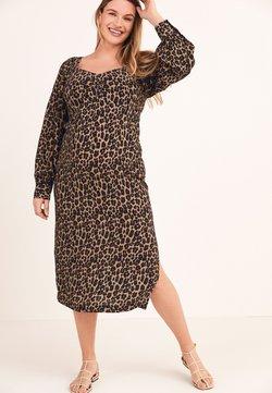 Next - SWEETHEART NECKLINE - Sukienka letnia - brown