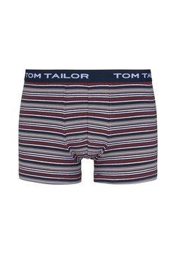 TOM TAILOR - Shorty - red stripes