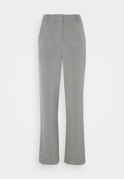 Envii - KAFIR PANTS - Trousers - grey melange