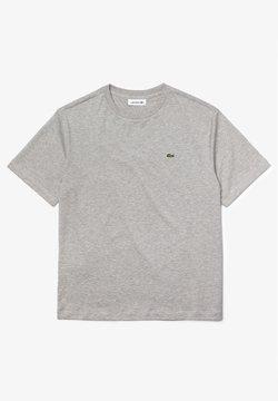 Lacoste - T-shirt basic - gris chine