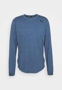 Puma - CLOUDSPUN - Funktionsshirt - ensign blue heather