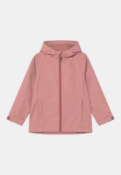 Color Kids - SOLID COL UNISEX - Soft shell jacket - ash rose