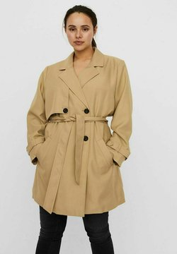Vero Moda Curve - VMCELESTE - Trenchcoat - travertine