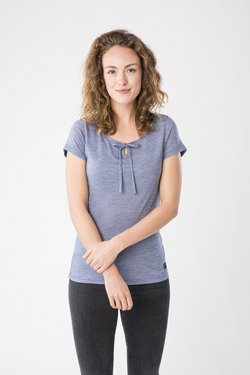 super.natural - RELAX TEE - T-Shirt print - blue