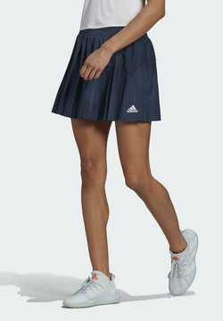 adidas Performance - CLUB PLEATSKIRT TENNIS AEROREADY PRIMEGREEN REGULAR SKIRT - Sportrock - blue