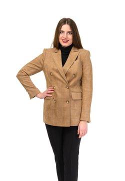 Diyas London - CHECKER - Blazer - brown