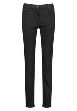 Gerry Weber - Jeans slim fit - black black denim