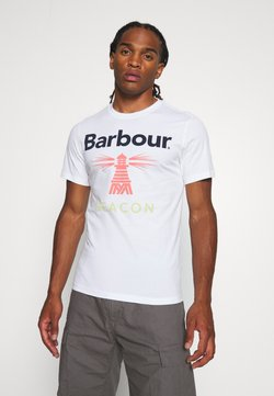Barbour Beacon - MANOR TEE - T-shirt print - white