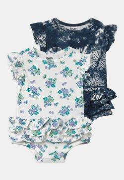Cotton On - ALICE RUFFLE 2 PACK  - T-shirt print - blue