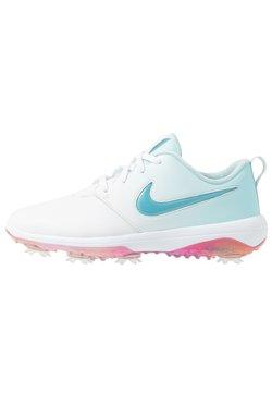 Nike Golf - NIKE ROSHE WITH SWAROVSKI® CRYSTALS DAMEN-GOLFSCHUH - Golfkengät - white/topaz mist/blue gaze