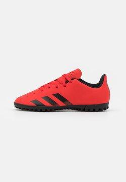 adidas Performance - PREDATOR FREAK .4 UNISEX - Botas de fútbol multitacos - red/core black