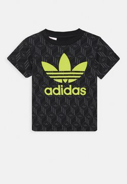adidas Originals - TREF TEE - T-shirt print - black