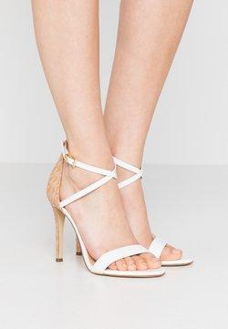 MICHAEL Michael Kors - ANTONIA - High Heel Sandalette - optic white/multicolor