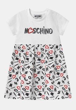 MOSCHINO - Jerseykleid - white