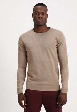 Selected Homme - SLHTOWER CREW NECK  - Sweter - tuffet