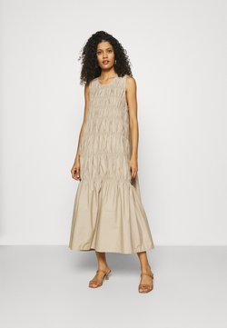 Gestuz - LENA LONG DRESS - Kjole - beige