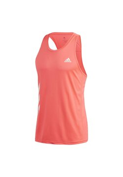 adidas Performance - OWN THE RUN 3-STRIPES PB SINGLET - Top - pink