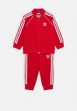 adidas Originals - TRACKSUIT SET - Trainingspak - scarlett/white