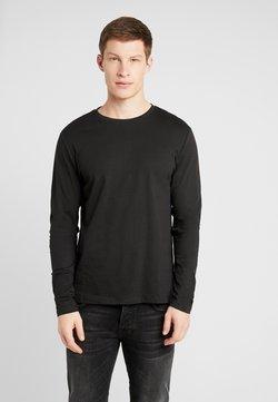 Pier One - Maglietta a manica lunga - black