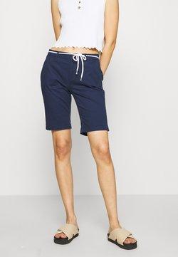 ONLY - ONLPARIS LONG BELT - Shorts - navy blazer