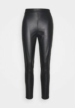 Pinko - FLAVIO TROUSERS - Leggings - Hosen - black
