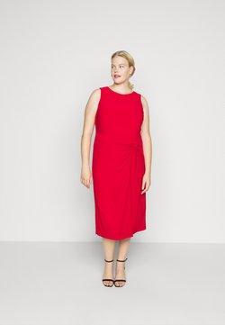Lauren Ralph Lauren Woman - KAVA SLEEVELESS DAY DRESS - Etuikleid - orient red