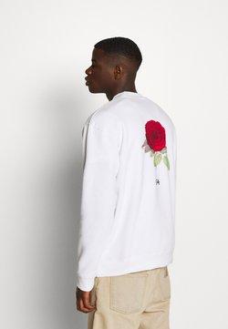 274 - BRON ROSE CREW - Sweatshirt - white