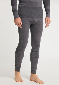 PYUA - Tights - grey melange